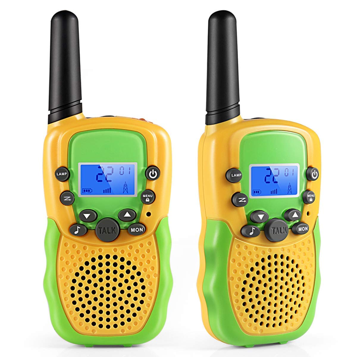 1c88e11731d8e4 Cakie Walkie Talkies for Kids, 22 Channel FRS/GMRS 2 Way Radio (up