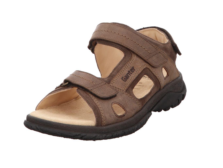 Ganter 257121-2920 - Sandalias de Vestir de Piel Para Hombre Marrón Moca 43 EU|moca