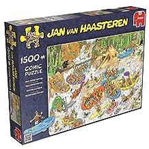 Jumbo Games Jan van Haasteren Wild Water Rafting Jigsaw Puzzle (1500-Piece)