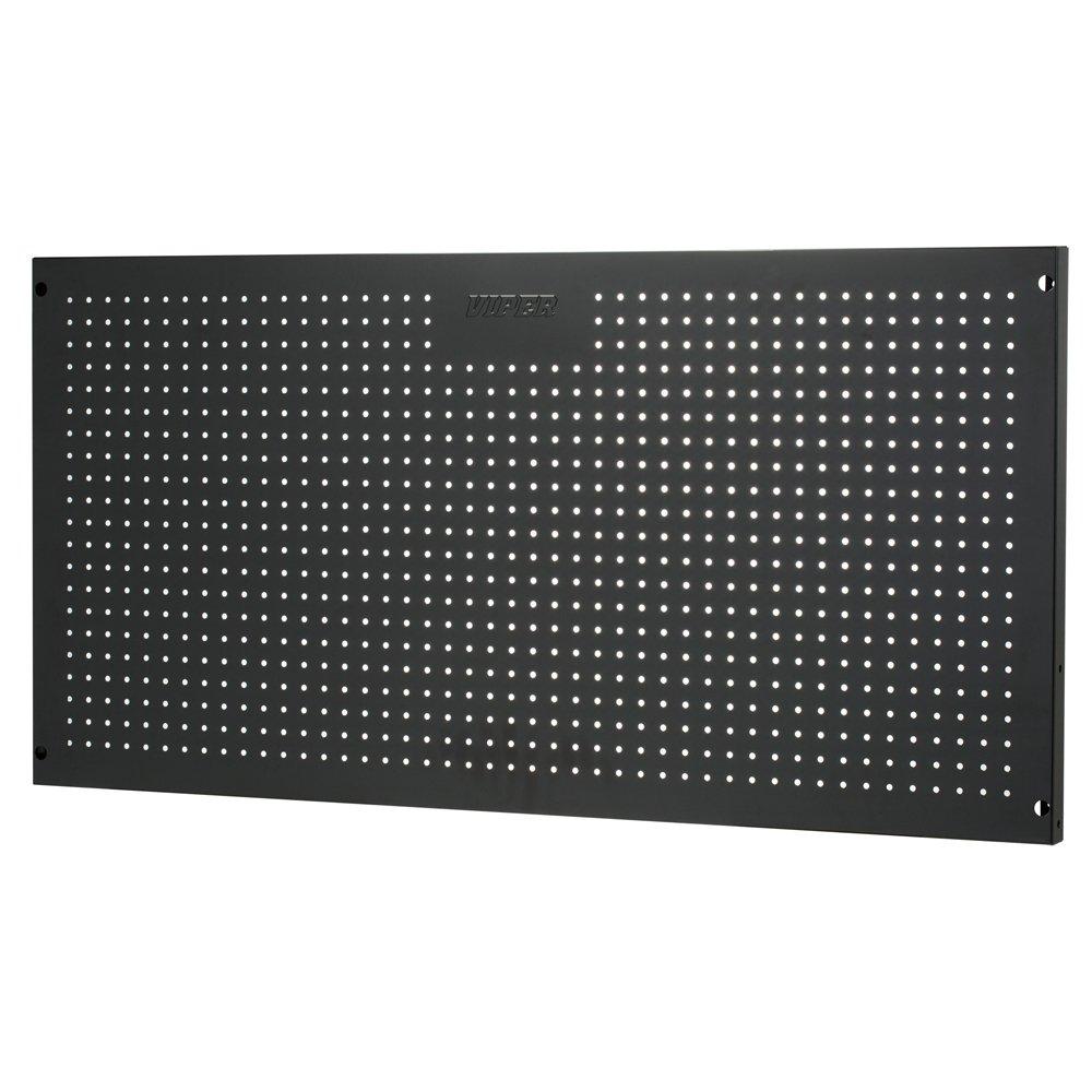 Viper Tool Storage V2448PBBL 24-Inch by 48-Inch 18G Steel Peg Board, Black