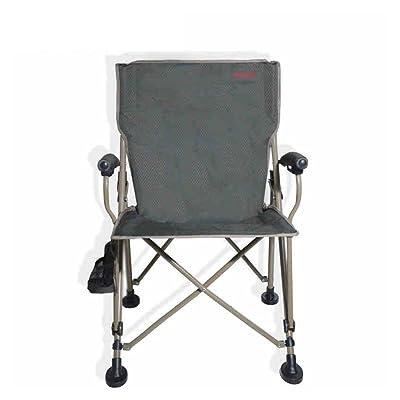 Meng wei shop Accoudoir pliant chaise inclinable plage de pêche camping portable tabouret extérieur chaise auto-conduite