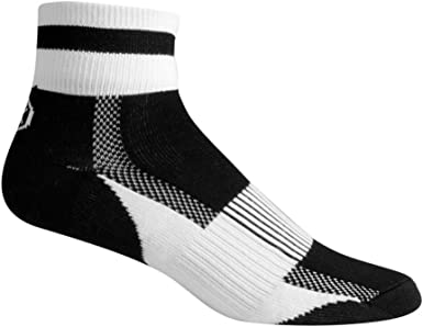 Aero Tech Coolmax Sock Quarter Crew Socks Made in USA Running Cycling