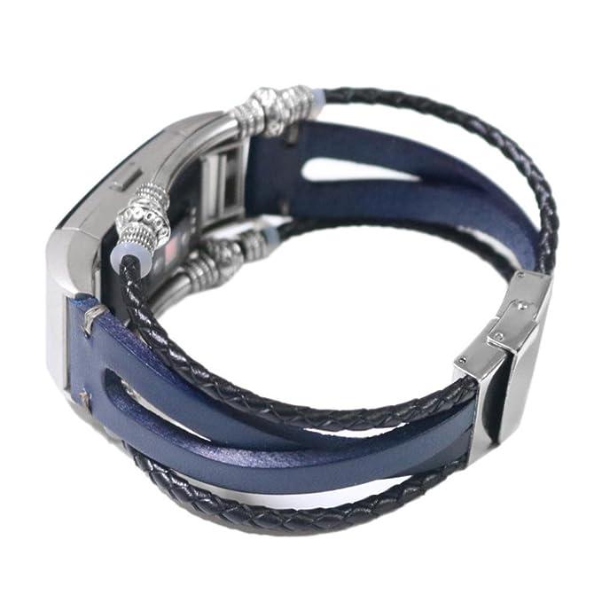 Ersatzarmband Magnetschleife Edelstahl Metallband für Fitbit