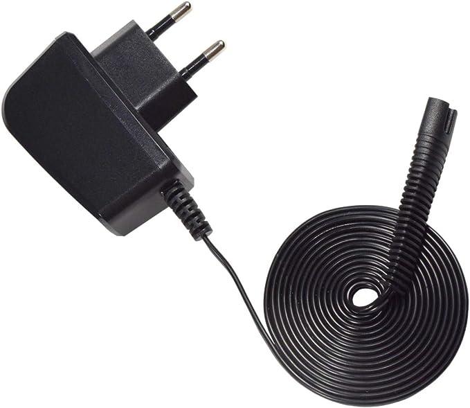 HQRP adaptador de cable de alimentación/para Braun Series 1 ...