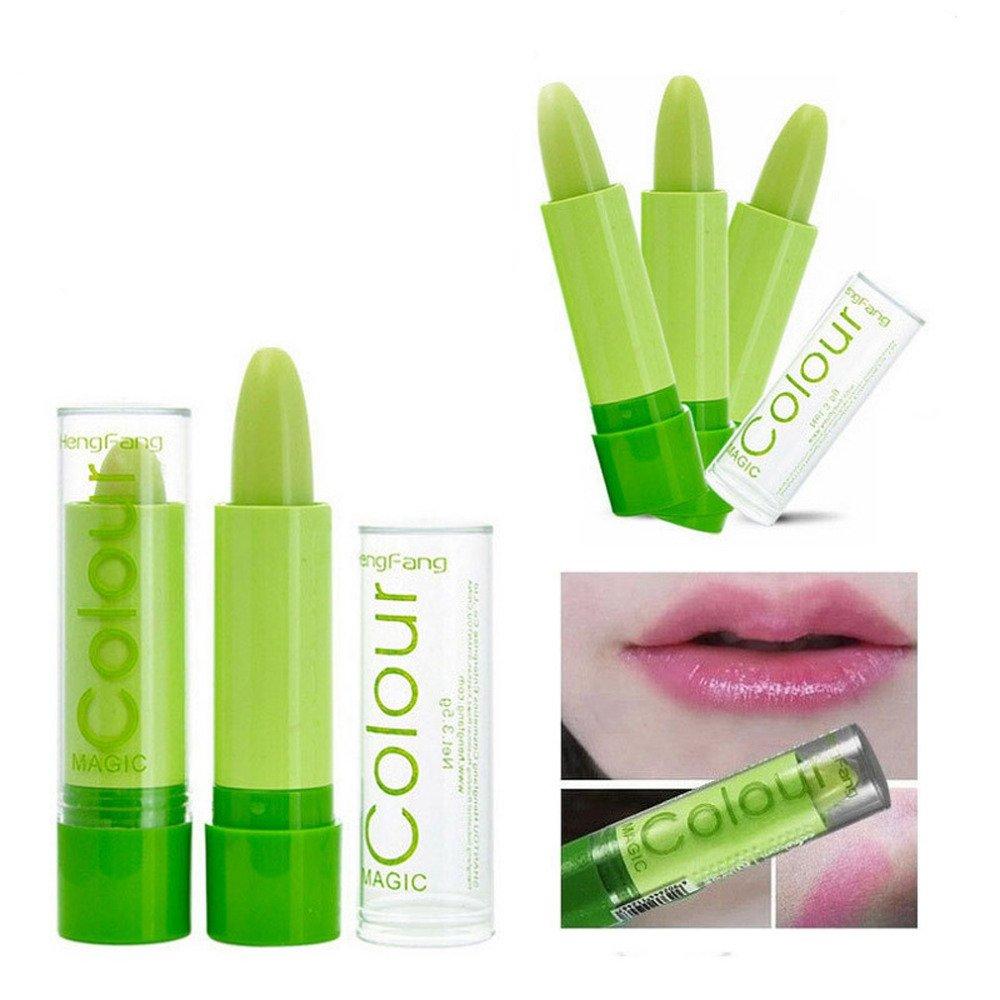 Make-up: Rossetto con il colore che cambia, rossetto verde con effetto personalizzato - Pink by ARTUROLUDWIG