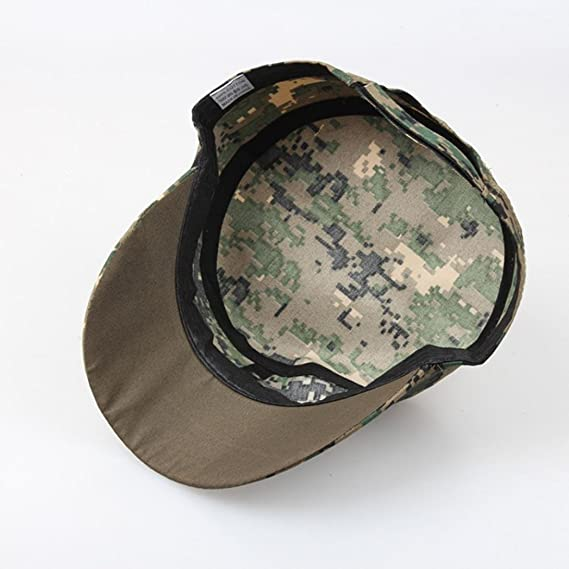 cd99562f53c Hats for Women Jamicy Unisex Sport Outdoor Camo Tactical Plain Vintage Army  Military Cadet Style Adjustable Cap Hat (A)  Amazon.co.uk  Clothing