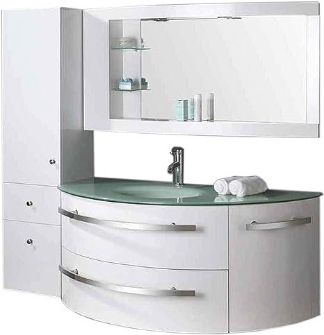 Grafica Ma Ro Srl Badmobel Badezimmermobel Badezimmer Ambassador 120 Cm Waschtisch Schrank Waschbecken Amazon De Kuche Haushalt