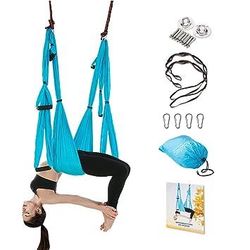 Aokitec - Juego de columpio para yoga - Kit de hamaca para ...