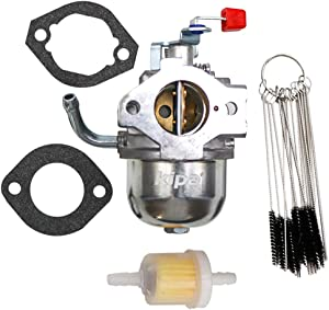KIPA Carburetor for 0A4600 091187 091187A Generac 410cc Generator 410HS GN410 GN360 GH360 Carb with Gaskets Fuel Filter Carbon Dirt Jet Cleaner Tool Kit