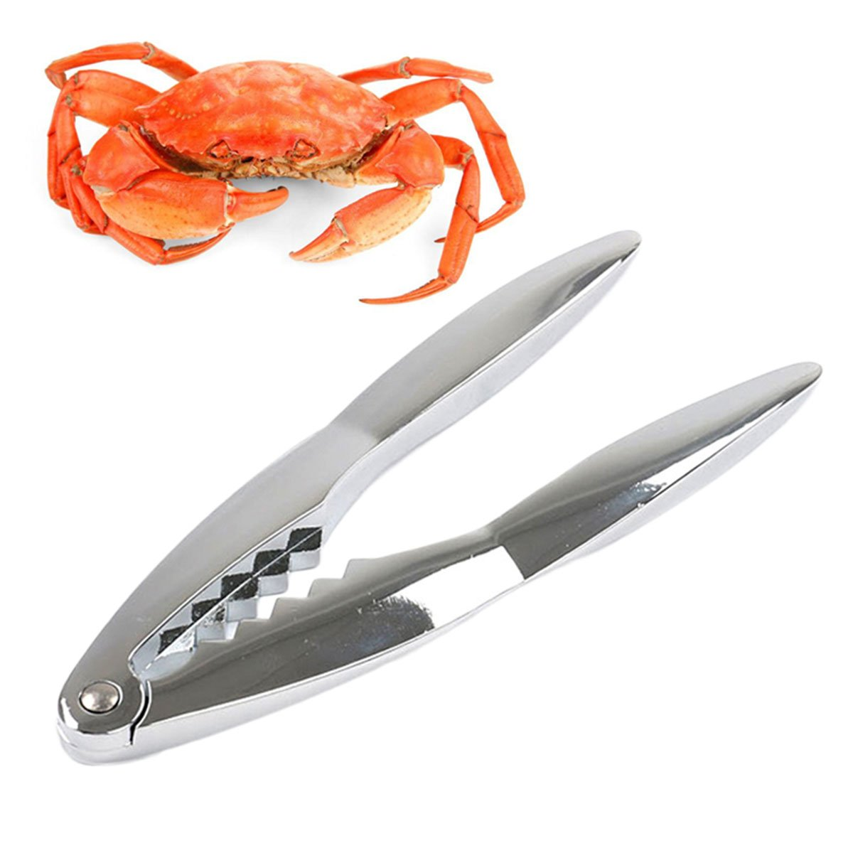 outgeek Seafood Tool Lobster tool Zinc Alloy Nut Cracker tool Kitchen Cracker Tool