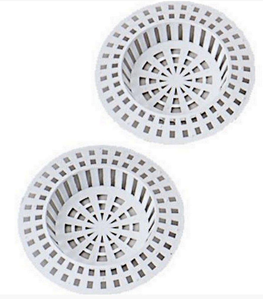 ba/ñera ba/ño SACALA 3 Paquetes de filtros de Acero Inoxidable para Fregadero de Cocina Lavabo