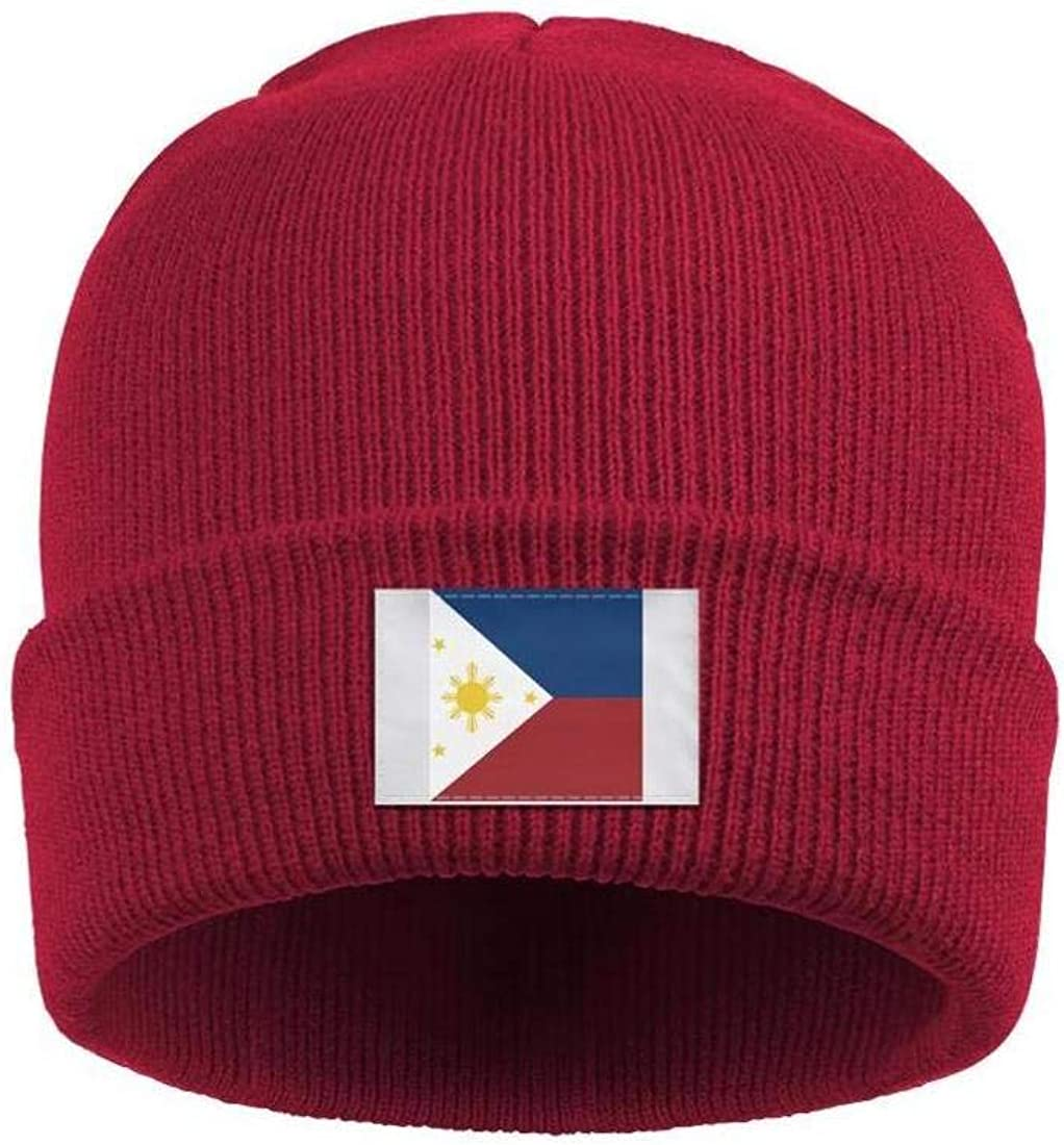 XIAOWUGO Winter Beanie Hat Texas State Flag Knit Skull Cap for Men Women