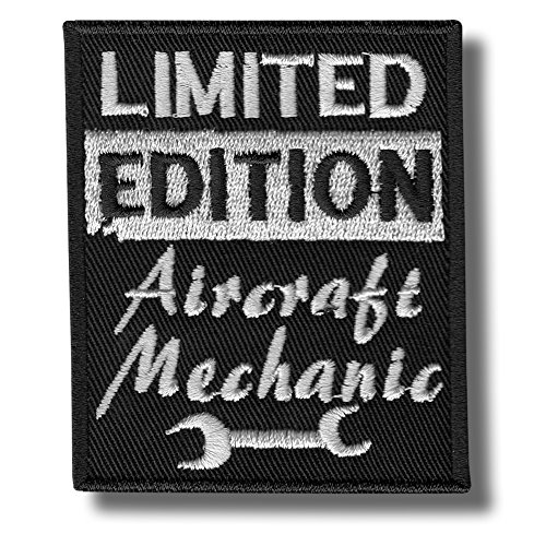 Aircraft Mechanic - Embroidered Patch 7x8 cm
