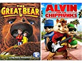 Alvin and the Chipmunks & The Great Bear: A Big Hairy Adventure DVD Animated Set