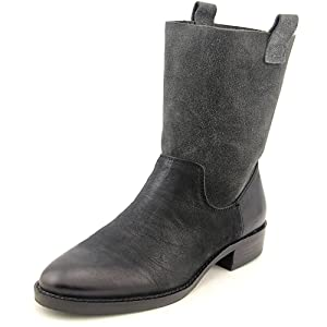 Sole Society Jaclyn Women US 8.5 Black Mid Calf Boot