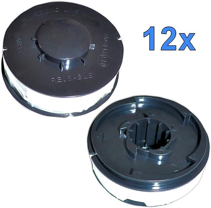 3 Stück Trimmerspulen passend für ROYAL ERT 550//1V RTV 550//1 Faden Spule Rasen