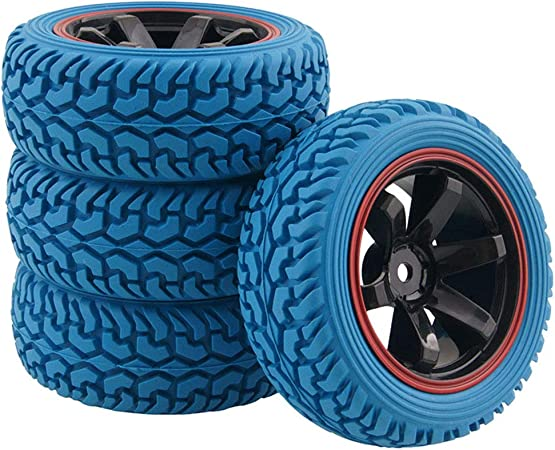 HPI 4790 X-Pattern Radial Tires 26mm D Compound RS4 Sprint Toyota Nissan Kyosho