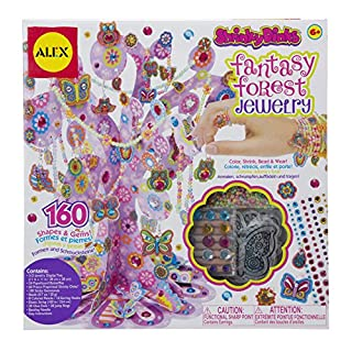 Shrinky Dinks Fantasy Forest Jewelry Kit Kids Art and Craft Activity