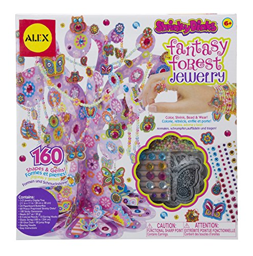 Shrinky Dinks Fantasy Forest Jewelry Kit -