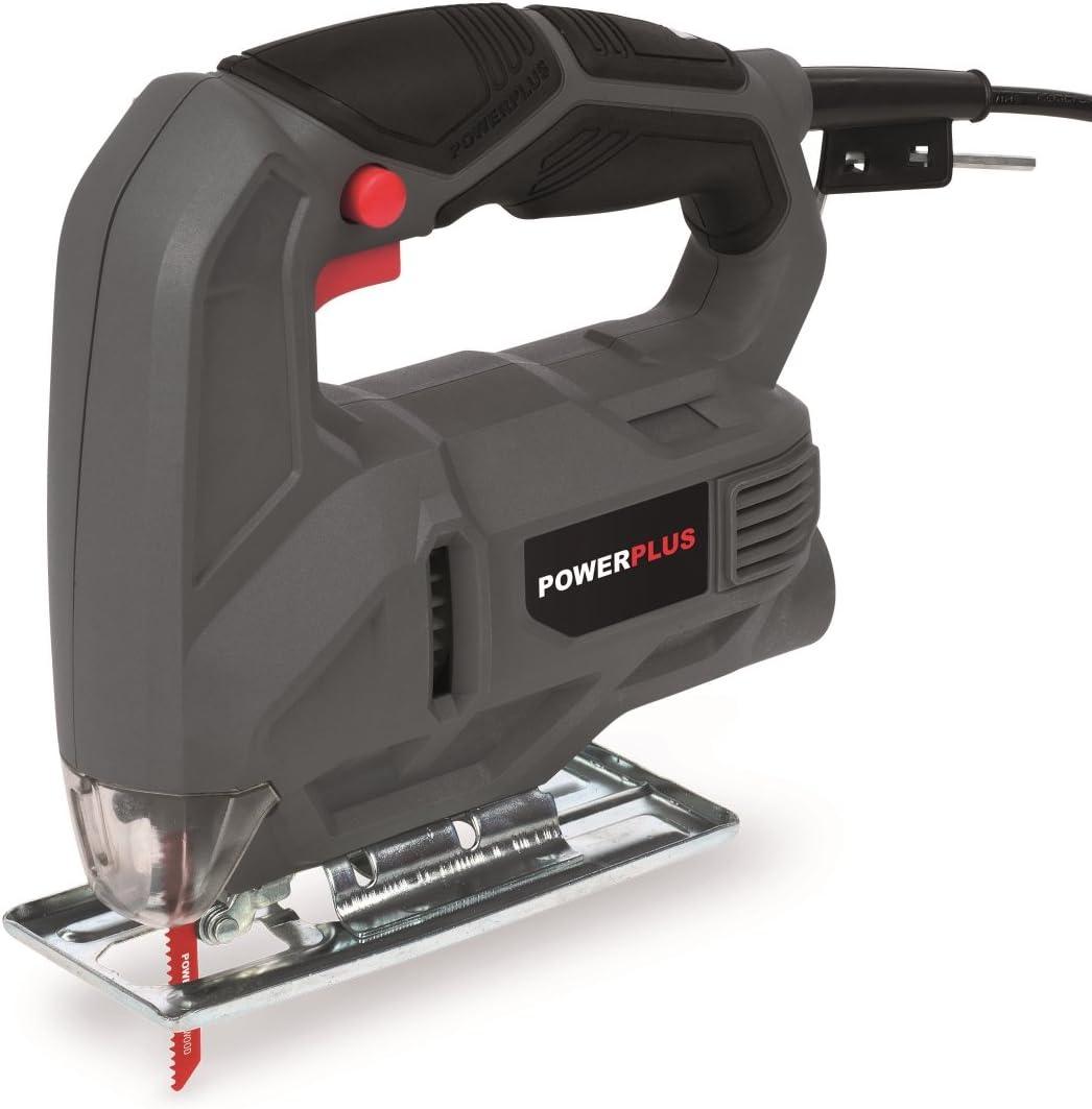 POWE30010 Powerplus Stichs/äge 450 Watt Pendelhubstichs/äge