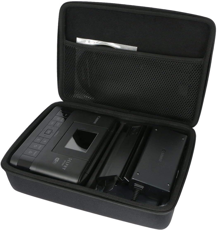 Impresora fotogr/áfica inal/ámbrica WERICO Duro Estuche Viajes Funda Bolso para Canon Selphy CP1300 CP1200