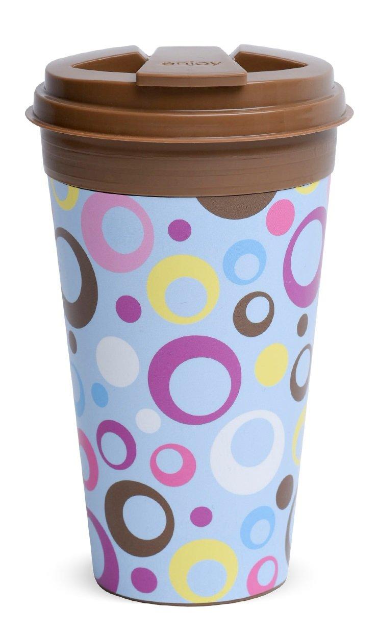 Amazon aladdin coffee mugs - Amazon Com Easy Traveler Retro Collection Insulated Travel Mug 16 Oz Set Of 3 Kitchen Dining