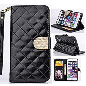 6,6 Case,6 Leather Case,iPhone 6,6 4.7 Case,iPhone 6 Case,iPhone 6 Wallet Case,Creativecase Pu Leather [Book Style] Wallet Card Holder Pouch Flip Case for iPhone 6 4.7 inch-F3