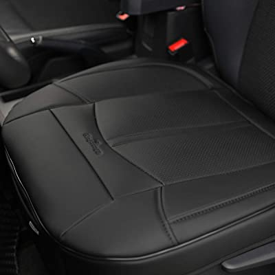 KINGLETING Car Seat Covers Without Backrest,Suitable for All Seasons of Large and Medium-Sized Cars(1 Pcs,Black): Automotive