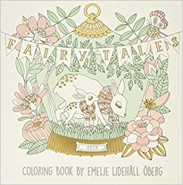 Fairy Tales Coloring Book Published In Sweden As Sagolikt Emelie