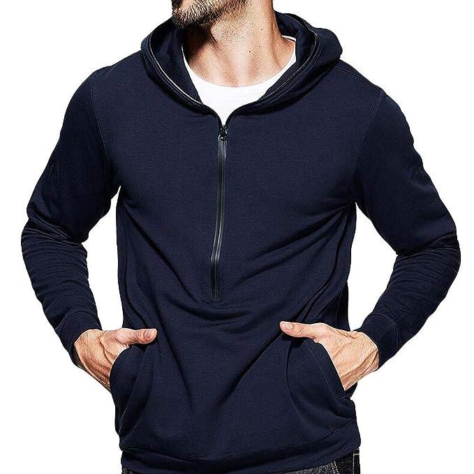 269a668c677d Btruely Pullover Herren Slim Fit Winter Große Größe Top Männer Sweatshirt  Rundhals Patchwork T-Shirt Casual ...