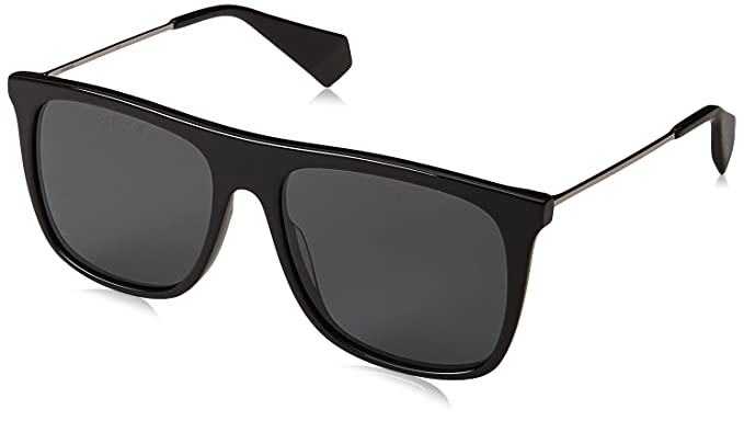 Amazon.com  Polaroid Sunglasses Men s Pld 6046 s x Polarized Square ... 2a2ad56c178