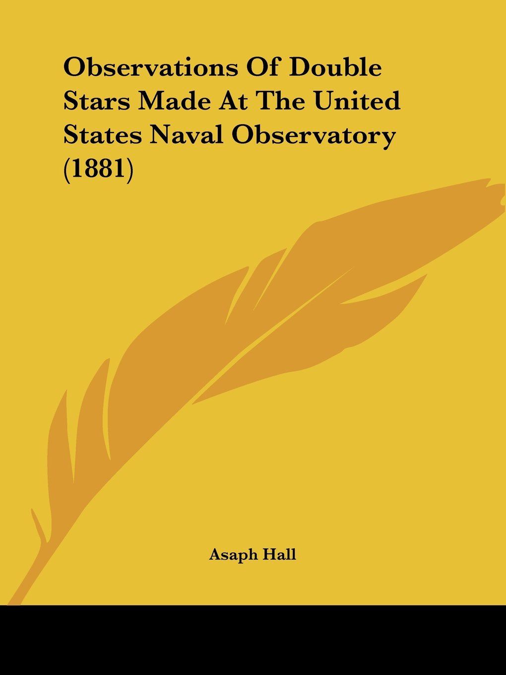 Download Observations Of Double Stars Made At The United States Naval Observatory (1881) pdf
