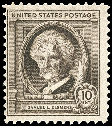 Samuel Langhorne Clemens N(1835-1910) Mark Twain American Writer And Humorist US Commemorative Postage Stamp 1940 Poster Print by (18 x 24)