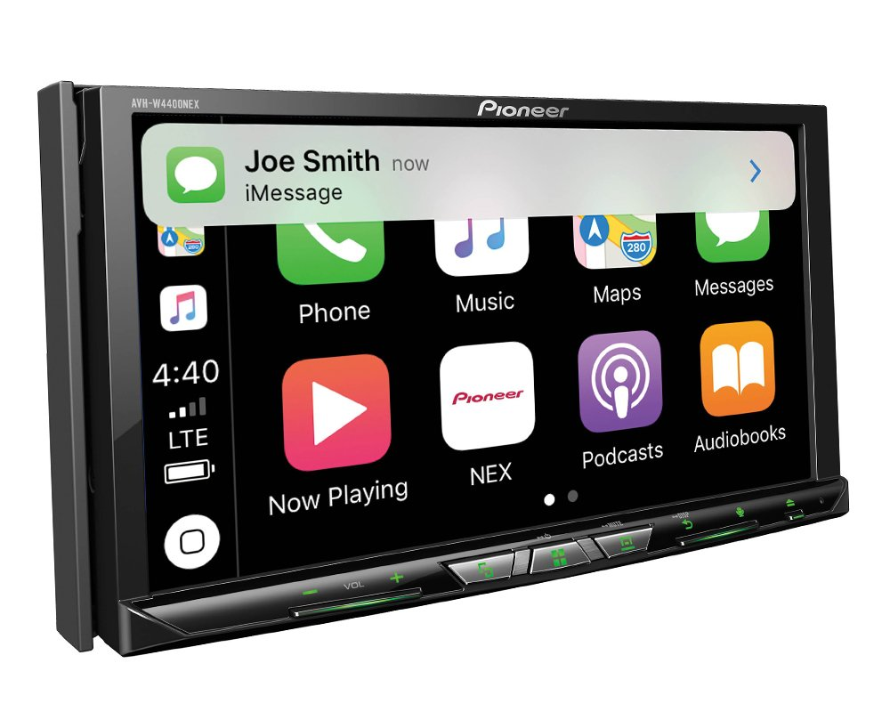 Pioneer Avh W4400nex In Dash Multimedia Receiver With 7 2001 Subaru Forester Wiring Diagram Wvga Clear Resistive Touchscreen Display Cell Phones Accessories
