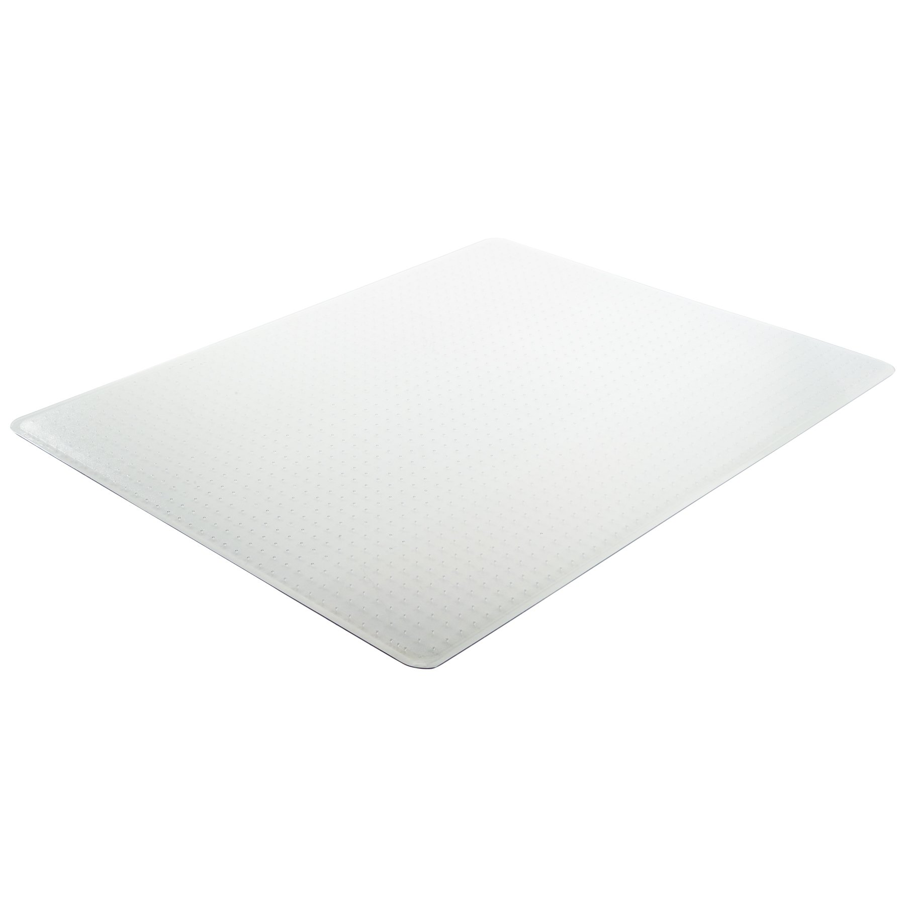 Deflecto RollaMat Clear Chair Mat, Medium Pile Carpet Use, Rectangle, Beveled Edge, 60 x 96 Inches (CM15943)