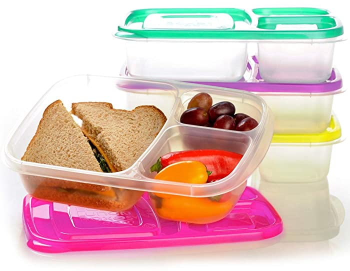 Top 9 Small 3 Compartment Food Containers