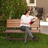 LIFETIME 60139 Outdoor Convertible Bench, 55