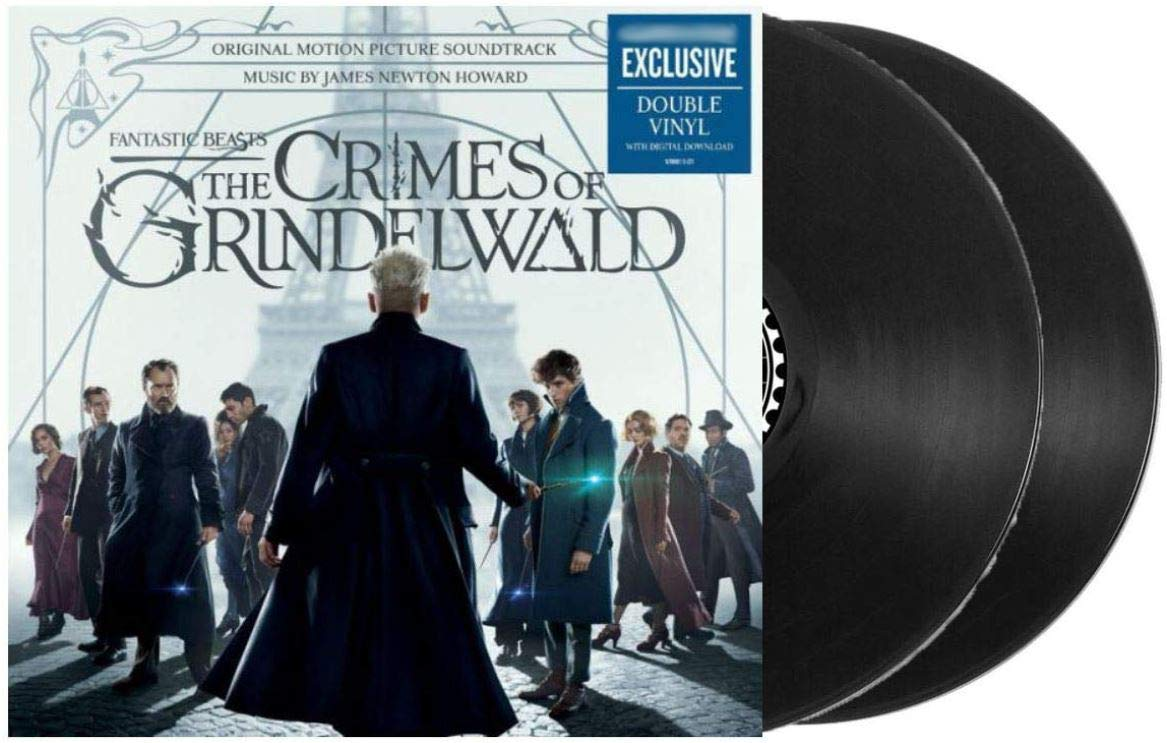 Fantastic Beasts: The Crimes of Grindelwald - Original Motion Picture Soundtrack (Exclusive Limited Edition 2XLP Vinyl) by Barnes Noble Consign