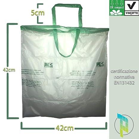 Palucart® 10 Rollos de 15 Bolsas biodegradables 10 litros ...