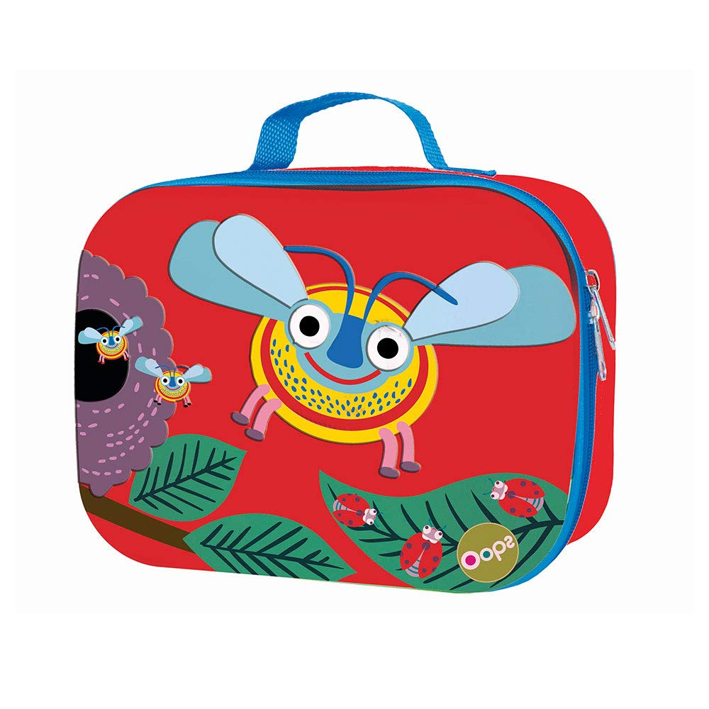 mehrfarbig Biene Oops SA 31006.35 Lunchbox Kindergartentasche isoliert