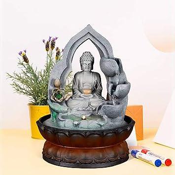 Dmzyzz Bouddha Fontaine D Interieur Pour Bureau Decoration