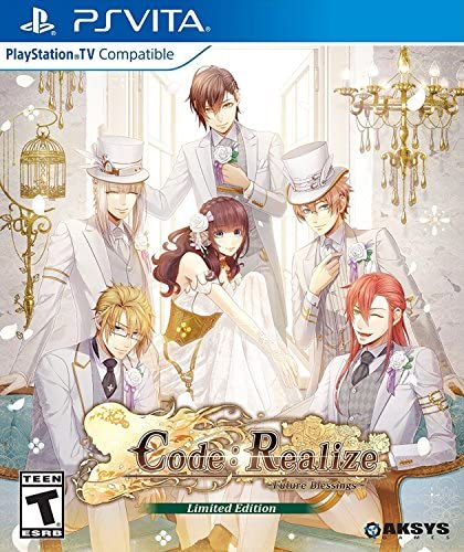 Code: Realize Future Blessings - Limited Edition (輸入版:北米) - PS Vita