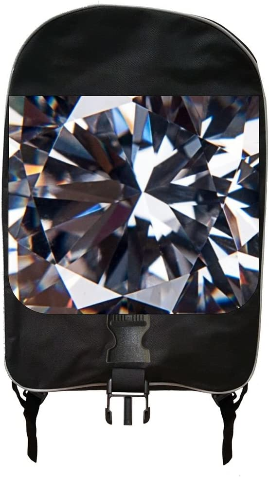 Up-Close Diamond PRINT DESIGN Backpack
