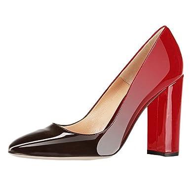 6c252efd8e3 EKS Women Elegant Pointed toe-Pumps