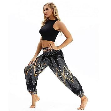 YUJIAKU Pantalones de Yoga/Transpirables/Secado rápido ...