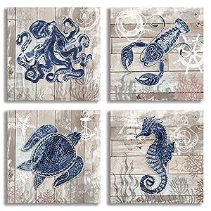 61y0h9dtQCL._SS300_ Seahorse Wall Art & Seahorse Wall Decor