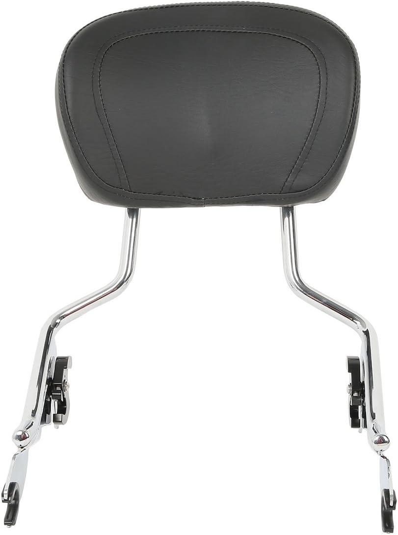 SLMOTO New Detachable Backrest Sissy Bar Fit for Harley Davidson Touring Models 2009-2020