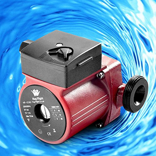 Funtell Heating Circulating Pump Hot Water Pump for Central Heating ...