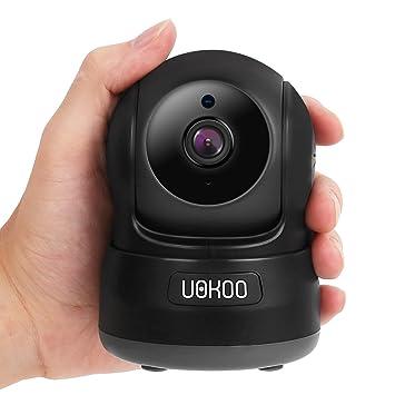 Cámara de seguridad inalámbrica, uokoo 720P HD Mini cámara IP Home Wifi Inalámbrica Cámara de