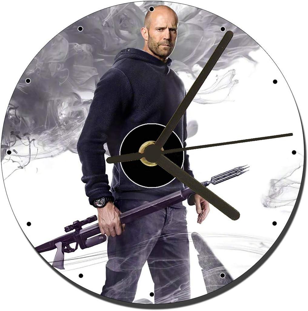 The Meg Jason Statham CD Clock 12cm